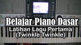 getlinkyoutube.com-Belajar Piano Dasar - Latihan Lagu pertama (Twinkle-Twinkle)