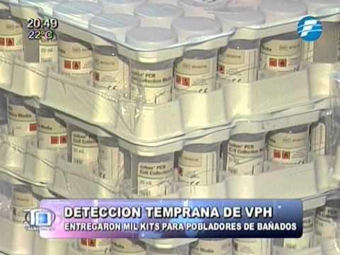Entregan kits para detección del VPH a mujeres de bañados - 01/10/2014