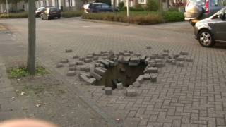 matchmoving test hole in the street