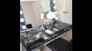 getlinkyoutube.com-DIY Modern Vanity with Lights