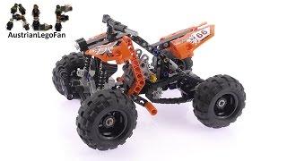getlinkyoutube.com-Lego Technic 9392 Quad Bike - Lego Speed Build Review