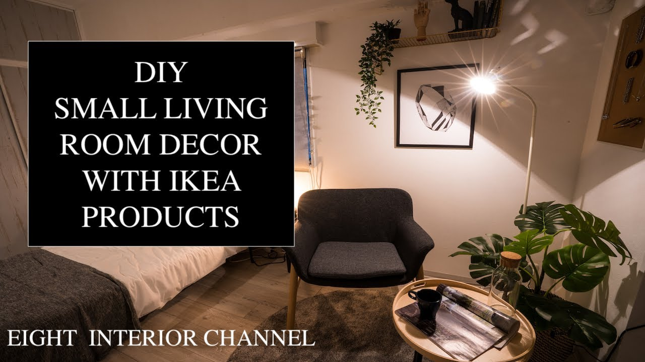 DIY Small Living Room Decor with Ikea Products