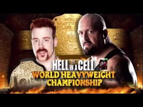 WWE Hell in a Cell 2012 Match Card - Sheamus(c) vs. Big Show