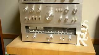 getlinkyoutube.com-Vintage Kenwood Stereo System with Klipsch Heresy Speakers