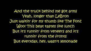 N.E.R.D. ft Rihanna - Lemon (Lyrics On Screen)