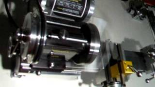getlinkyoutube.com-Taig Micro Lathe - Leadscrew and Motor Control