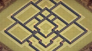 getlinkyoutube.com-TH9 WAR BASE - THE MANTICORE - Clash of Clans