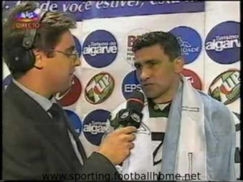 Salgueiros - 0 Sporting - 4, 1999/2000 Festa do Título