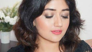 getlinkyoutube.com-Easy Budget Makeup Tutorial - Indian Party Makeup | corallista