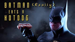 getlinkyoutube.com-Batman Really Eats a Hotdog // El-Cid