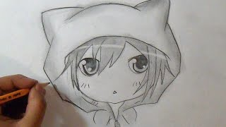 "getlinkyoutube.com-""Paso a Paso"" Cómo dibujar un Chico Chibi 