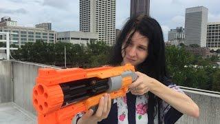 getlinkyoutube.com-Honest Review: Nerf Vagabond (Doomlands 2169 Unboxing)