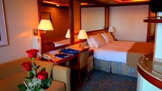 getlinkyoutube.com-Coral Princess:  balcony cabin versus mini suite