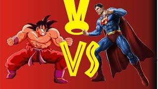 getlinkyoutube.com-Duelo Crossover #1 - Goku VS Superman