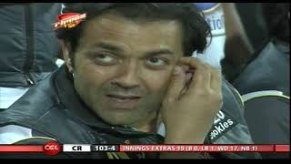 getlinkyoutube.com-CCL 2 Mumbai Heroes Vs Chennai Rhinos Inngs2 Over 18