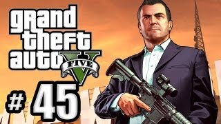 Grand Theft Auto 5 Gameplay Walkthrough Part 45 - Sidetracked and Driller