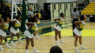 Norfolk State Cheerleaders B Squad (She Got A Donk)