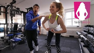 Definierte, straffe Schultern - Training für Frauen   www.size-zero.de