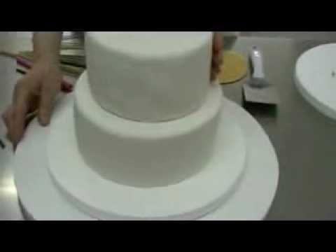 Hacer Una Tarta De Fondant Dos Pisos Como Montar Torta