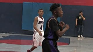 getlinkyoutube.com-Julian Newman Scores 38 Points! 10-15 from Deep