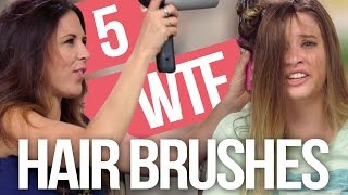 getlinkyoutube.com-5 Weirdest Hair Brushes