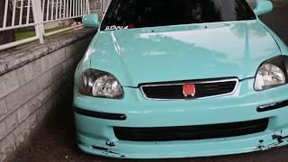 getlinkyoutube.com-Seyyar Slammed Honda:Civic // Stance Nation