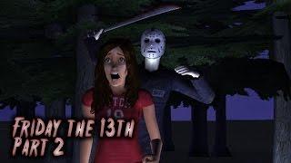 getlinkyoutube.com-Friday the 13th Part 2 | Sims 2 Horror Movie (2015)