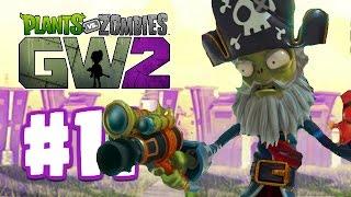 getlinkyoutube.com-CAPTAIN DEADBEARD NEW CHARACTER | Plants Vs Zombies Garden Warfare 2 | Garden Warfare 2 BETA Part 11