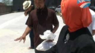 Marwah Daud Ibrahim Melihat Proses Produksi Tepung Mocal