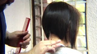 Bob Haircut tutorial /Beauty  Bob Cut / Peinado Bob / tutorial / como hacer / paso a paso width=