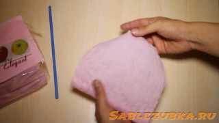 getlinkyoutube.com-Гофрированная бумага своими руками за 2 минуты. Мастер-класс