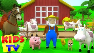 getlinkyoutube.com-Kids TV Nursery Rhymes - Old MacDonald had a Farm | Old MacDonald had a Farm 3D Rhyme