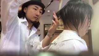 クールビズ 涼しいヘアースタイル 刈り上げ女
