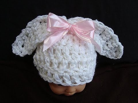 HOW TO CROCHET A BUNNY EARS HAT