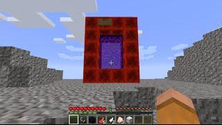 getlinkyoutube.com-Minecraft: How to make a Portal to Roblox - (Minecraft Portal to Roblox) - PARODY