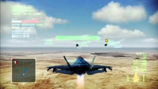 getlinkyoutube.com-Pipeline Destruction | F-35B | A Rank | Ace Combat Infinity Co-Op