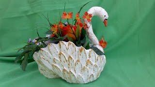 getlinkyoutube.com-cisne hecho de carton