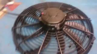 getlinkyoutube.com-Spal Radiator Fan vs cheap ripoff Ebay fan