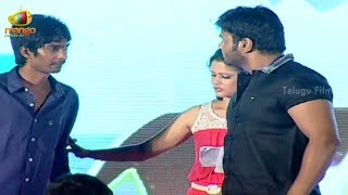 getlinkyoutube.com-Manchu Manoj warning Dhanraj @ Jump Jilani Audio Launch - Allari Naresh
