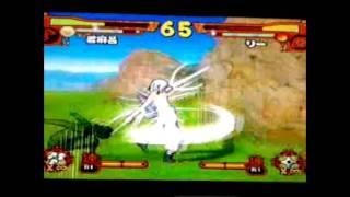 getlinkyoutube.com-NA2 - Kimimaro vs COM Lee, Naruto & PTS Gaara