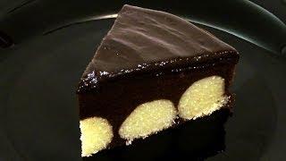 getlinkyoutube.com-Шоколадный пирог с творожными шариками