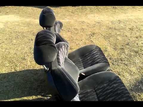 Сиденья сидушки  откидные на ВАЗ Ford Escort КОВШИ