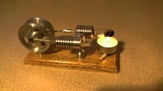 getlinkyoutube.com-Silnik Stirlinga  - Stirling Engine