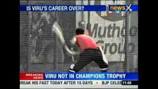 Virender Sehwag dropped from ODI series