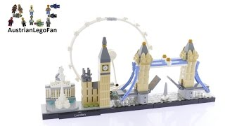 getlinkyoutube.com-Lego Architecture 21034 London - Lego Speed Build Review
