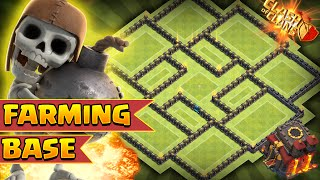 Clash of Clans - *NEW* BEST AIR SWEEPER TOWNHALL 10 (TH10) FARMING BASE!