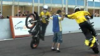 getlinkyoutube.com-2014 Manobras De Motos Só No Wheeling Freestyle Empinando Grau RL Autodromo De Campo Grande Ms