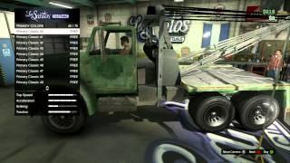 getlinkyoutube.com-GTA 5 Big Tow Truck RARE (Outdated)