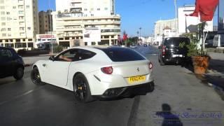 getlinkyoutube.com-Ferrari FF , HARD REV & Amazing Acceleration - Tanger