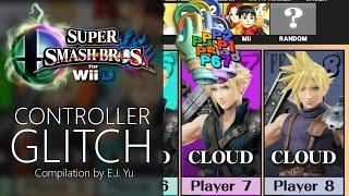getlinkyoutube.com-Controller Glitch Compilation — Super Smash Bros. for Wii U